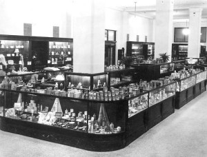Old Historic Macy's Counter
